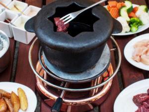 Fondue Bourguignonne - Swiss Meat Fondue