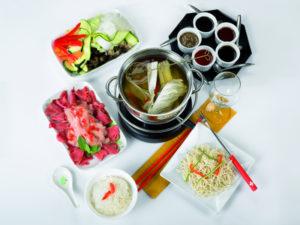 Fondue Chinoise - Chinese Meat Fondue